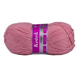Arelan Kotek 19-2234 różowy polski akryl, produkowany w Łodzi. Mięciutki, występuje w wielu pięknych kolorach. 300 m w 100 g