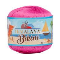 Włóczka Himalaya Bikini 80605 fuksja z poliamidu idealnie nadaje się na stroje kąpielowe, bieliznę czy letnie ubrania. 50g/165m