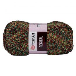 Yarn Art Recital 661 cieniowana wełniano-akrylowa włóczka. Mięciutka propozycja na zimowe akcesoria. 150g/330m