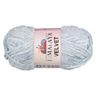 Włóczka Himalaya Velvet 90025 to szenilowa włóczka o delikatnym połysku. 100g/120m. Odpowiednik koloru 80325 Dolphin Baby.