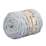 Opus Natura Macrama 5mm 103 to wyjątkowo miękki sznurek bawełniany zwinięty w walcowate motki po 250g i 60m. 80% bawełny i 20% poliestru.