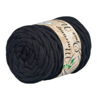 Opus Natura Macrama 5mm 115 to wyjątkowo miękki sznurek bawełniany zwinięty w walcowate motki po 250g i 60m. 80% bawełny i 20% poliestru.