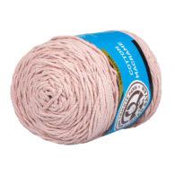 MTP Cotton Macrame M007 przędzony sznurek w kolorze różowym. 100% bawełny. Ma budowę plecionej nitki bez rdzenia w środku.250g/150m
