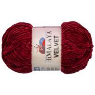 Włóczka Himalaya Velvet 90022 to szenilowa włóczka o delikatnym połysku. 100g/120m. Odpowiednik koloru 80322 Dolphin Baby.