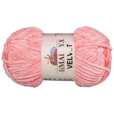 Włóczka Himalaya Velvet 90046 to szenilowa włóczka o delikatnym połysku. 100g/120m. Odpowiednik koloru 80346 Dolphin Baby.