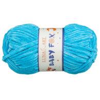 Luna Art Baby Fox 100-12 w kolorze niebieskim to pluszowa włóczka, wykonana z poliestru. Doskonała alternatywa dla Himalaya Dolphin Baby.