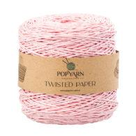 Sznurek Popyarn Twisted Paper B526 róż to 100% makulaturowy papier. Świetnie nadaje się na kapelusze, torebki czy koszyki:) 250g/255m