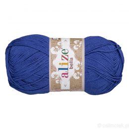 Alize Bella 333 to bawełniana włóczka w kolorze chabrowym. Naturalna propozycja do amigurumi. Wersja 100g/360m