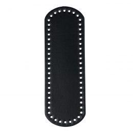 Dno do torebki 12x36cm czarne wykonane ze skóry ekologicznej z praktycznymi otworami. Występuje w kilku kolorach oraz dwóch rozmiarach.