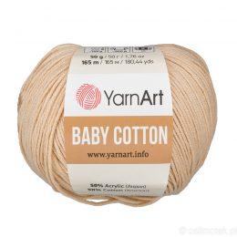 YarnArt Baby Cotton 404 to bawełniano-akrylowa włóczka idealna do amigurumi.