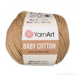 YarnArt Baby Cotton 405 to bawełniano-akrylowa włóczka idealna do amigurumi.