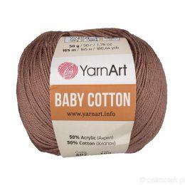 YarnArt Baby Cotton 407 to bawełniano-akrylowa włóczka idealna do amigurumi.