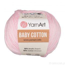 YarnArt Baby Cotton 410 to bawełniano-akrylowa włóczka idealna do amigurumi.