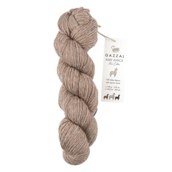 Mieszanka alpaki i merynosa Gazzal Baby Alpaca Pure Colors 6454