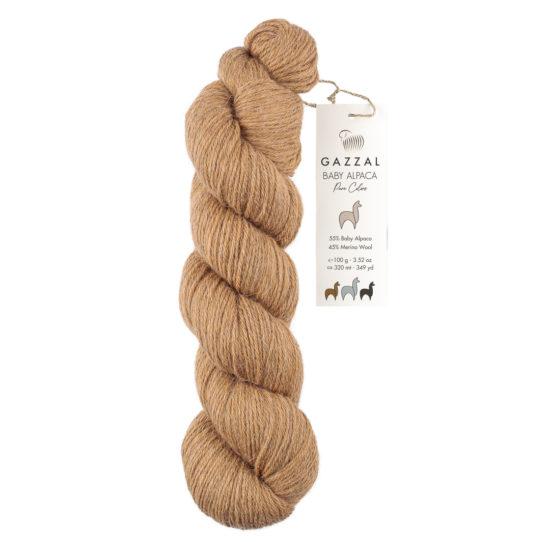 Mieszanka alpaki i merynosa Gazzal Baby Alpaca Pure Colors 6455