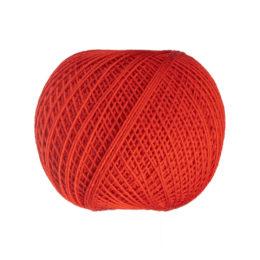 Ariadna Kaja 15 0306 w kolorze czerwonym to 100% bawełna merceryzowana od polskiego producenta nici i mulin. 30g/200m, grubość 50 tex