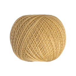 Ariadna Kaja 15 0321 w kolorze karmelowym to 100% bawełna merceryzowana od polskiego producenta nici i mulin. 30g/200m, grubość 50 tex