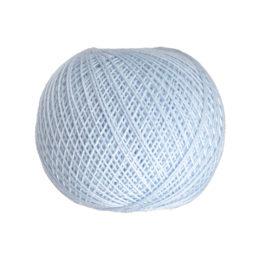 Ariadna Kaja 15 303 w kolorze błękitnym to 100% bawełna merceryzowana od polskiego producenta nici i mulin. 30g/200m, grubość 50 tex