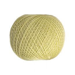 Ariadna Kaja 15 312 w kolorze pistacjowym to 100% bawełna merceryzowana od polskiego producenta nici i mulin. 30g/200m, grubość 50 tex