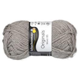 Schachenmayr Wool 85 00204 w kolorze lnianym to 100% dziewiczej wełny. Idealna na czapki i inne zimowe akcesoria. 50g/85m