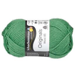 Schachenmayr Wool 85 00278 w kolorze zielonym to 100% dziewiczej wełny. Idealna na czapki i inne zimowe akcesoria. 50g/85m