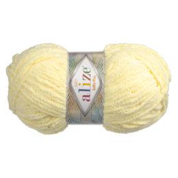Alize Softy Plus 13 jasny żółty to mięciutka włochata włóczka idealna na maskotki, szale, poduchy i koce. 100g/120m