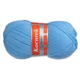 Włóczka Arelan Kocurek 32-2211 niebieski to polski akryl, produkowany w Łodzi. Mięciutki, występuje w wielu pięknych kolorach. 520m w 100 g