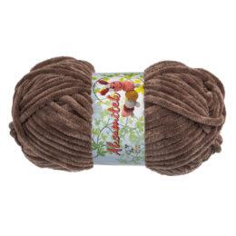 Opus Natura Aksamitek 1467 w kolorze czekoladowym to pluszowa włóczka idealna do tworzenia zabawek. Motki 50g/60m, szydełko 3.5-4mm
