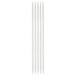 Druty skarpetkowe 4mm to komplet 5 sztuk drutów aluminiowych z powłoką teflonową do tworzenia skarpet. Od firmy SKC.